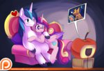 ende26 princess_cadance shining_armor tv watermark