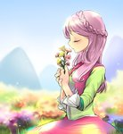 equestria_girls flowers fluttershy highres humanized quizia