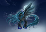 chargoz highres ponified queen_chrysalis