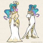 egophiliac humanized princess_celestia robot_legs steamquestria