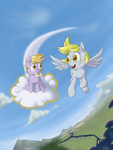 cassetteset cloud derpy_hooves dinky_hooves magic mail