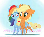 appledash applejack feellikeaplat rainbow_dash shipping