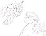 carnivorouscaribou insanity scootaloo sketch twilight_sparkle