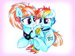 filly liaaqila rainbow_dash traditional_art windy_whistles