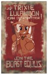 bioshock dsmo gun highres parody poster the_great_and_powerful_trixie weapon