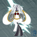 crossover marvel_comics songficcer storm x-men zecora