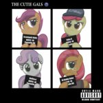 album_cover apple_bloom babs_seed cutie_mark_crusaders highres scootaloo sweetie_belle template93
