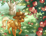 applejack apples celesse