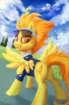 absurdres gingerady highres spitfire wonderbolts