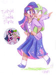 egriz highres humanized sketch spike twilight_sparkle