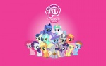 applejack big_macintosh blackm3sh colt derpy_hooves filly fluttershy highres lyra_heartstrings main_six muffin pinkie_pie princess_celestia princess_luna rainbow_dash rarity sweetie_drops the_great_and_powerful_trixie twilight_sparkle vector wallpaper zecora