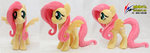 absurdres fluttershy highres nekokevin photo plushie toy