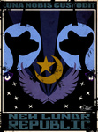 highres latin poster princess_luna propaganda puzzle-of-life simple