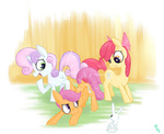angel apple_bloom cutie_mark_crusaders hollulu scootaloo sweetie_belle