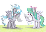 cloudchaser colored_pencil flitter highres i_shall_not_use_my_hooves_as_hands paper patoriotto