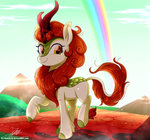autumn_blaze highres kirin the-butch-x