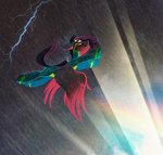 dearmary flying lightning original_character rain storm wonderbolts