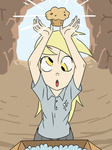 derpy_hooves humanized muffin nintendo parody the_legend_of_zelda thelivingmachine02