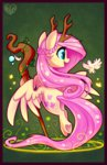 antlers bird druid fluttershy hollulu staff