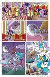 dress filly flying highres moon muffinshire nighttime princess_celestia twilight_sparkle twilights_first_dance