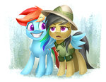 daring-do i_shall_not_use_my_wings_as_hands imdrunkontea rainbow_dash