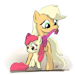 apple_bloom applejack book zlack3r