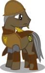 artist_unknown cigar crossover discworld helmet ponified sam_vimes sword weapon