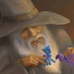crossover gandalf lord_of_the_rings suranon the_great_and_powerful_trixie toy twilight_sparkle