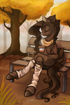anthro casynuf coffee highres original_character