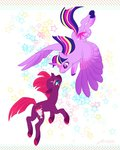 fat-bot highres princess_twilight tempest_shadow twilight_sparkle