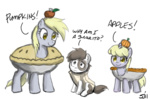 apples burrito costume derpy_hooves dinky_hooves johnjoseco pie pipsqueak pumpkin