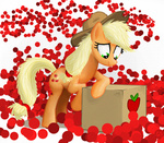 applejack apples cardboard_box gsphere