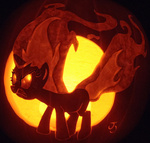 angry carving joh-wee pumpkin pumpkin_carving twilight_sparkle