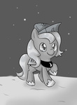 grayscale pegasisters82 princess_luna woonastuck young