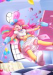 cannon highres humanized kelsea-chan pinkie_pie