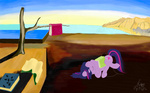 badzerg parody salvador_dali sleeping the_persistence_of_memory twilight_sparkle