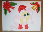 absurdres fluttershy highres maximustimaeus traditional_art