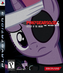 bandage eyepatch future_twilight game_cover martybpix metal_gear_solid parody twilight_sparkle