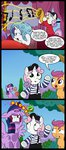 comic highres injured madmax mime princess_twilight rarity scootaloo sweetie_belle twilight_sparkle