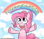 Post 66255, tags: cloud, parody, pinkie_pie, rainbow, slacking_is_magic, spongebob_squarepants, taco-slayer, rating:Safe, score:7, user:Granzon