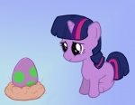 artist_unknown egg filly spike twilight_sparkle
