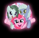 ckyeli limestone_pie marble_pie pinkie_pie siblings