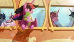 absurdres angusdra highres parents princess_cadance princess_flurry_heart princess_twilight shining_armor spike twilight's_dad twilight_sparkle twilight_velvet
