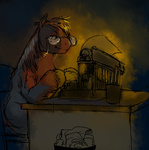big_macintosh citlalicue how_do_you_type_with_hooves typewriter