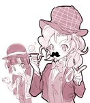 detective hat humanized megarexetera mustache pinkie_pie pipe twilight_sparkle