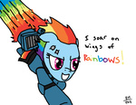 armor crossover jetpack military noisemaker111 rainbow_dash space_marine warhammer_40k