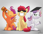 apple_bloom cutie_mark_crusaders highres oinktweetstudios scootaloo sweetie_belle