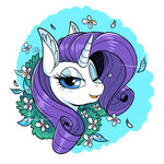 absurdres colorsoundz flowers highres rarity