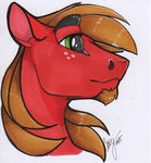 big_macintosh casynuf highres traditional_art
