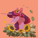absurdres flowers highres twilight_sparkle unicornic
